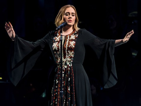 Adele continues to rule as she 'parties until 3am during backstage Celine Dion singalong'