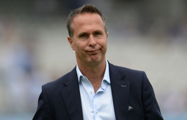 Michael Vaughan slammed Australia after they were skittled out by England