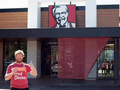 Australian man is campaigning to get a Michelin star for his KFC
