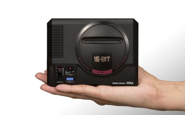 Sega Mega Drive Mini console