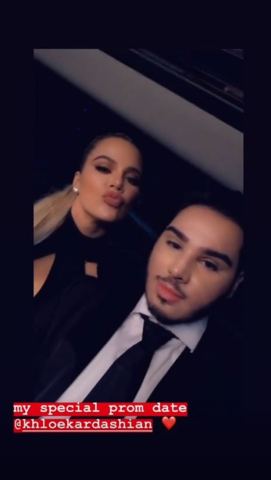 Khloe Kardashian prom