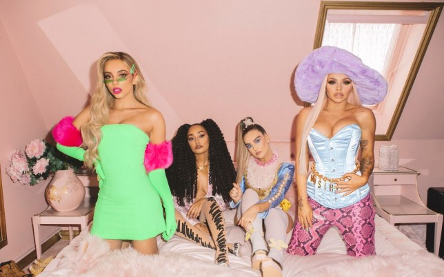 Little Mix unleash their wild side in BTS photos from Bounce Back music video – and we're obsessed