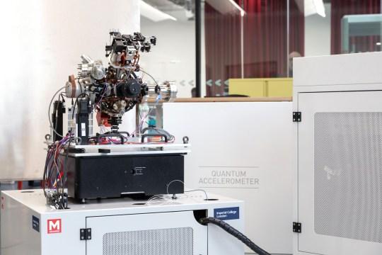 The M Squared SolsTiS Titanium:Sapphire is being used in quantum computing (RSE)