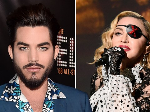 Adam Lambert says Madonna is being 'p****d on' because of music not her sexual antics