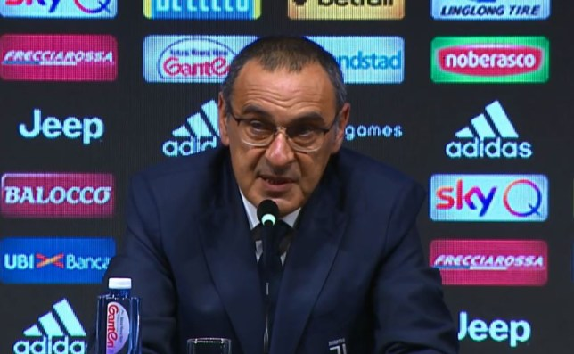 Maurizio Sarri has been officially unveiled as Juventus' new manager