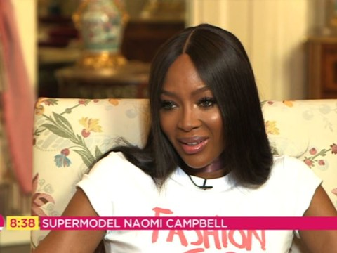 Naomi Campbell braces herself to turn 50 like a queen as she is officially crowned a fashion icon