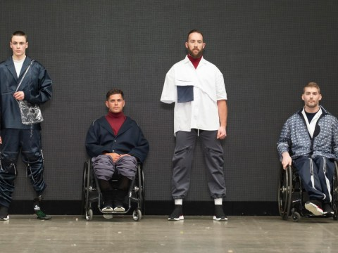 Student creates adaptive fashion range for people with physical disabilities