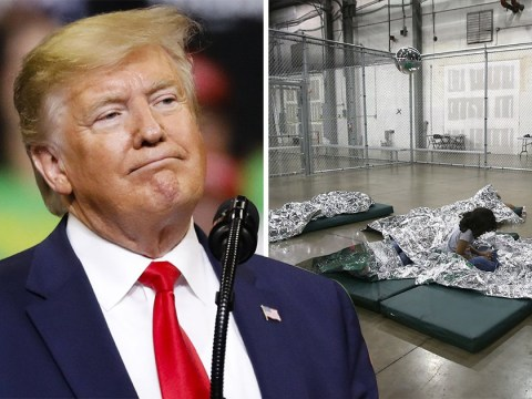 Trump accused of running concentration camps at US-Mexico border