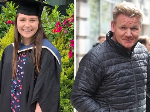 Gordon Ramsay is the proudest dad as daughter Megan is first in family to graduate from university