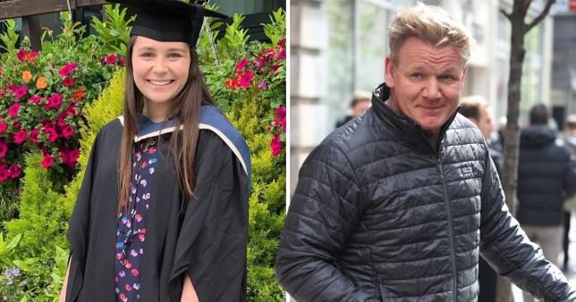 Gordon Ramsay and daughter Megan