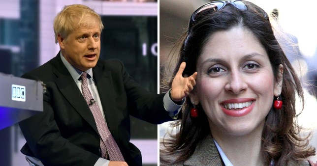 Boris Johnson says mistake 'made no difference' to Nazanin Zaghari-Ratcliffe