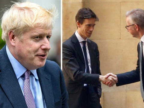 Michael Gove and Rory Stewart plot to oust Boris from top spot