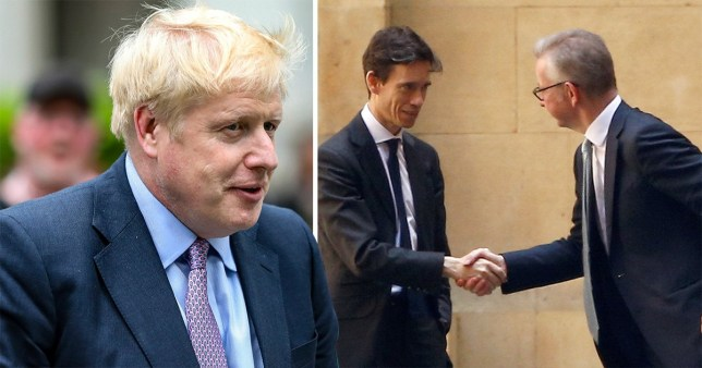 Michael Gove and Rory Stewart are plotting to stop Boris Johnson from becoming Prime Minister