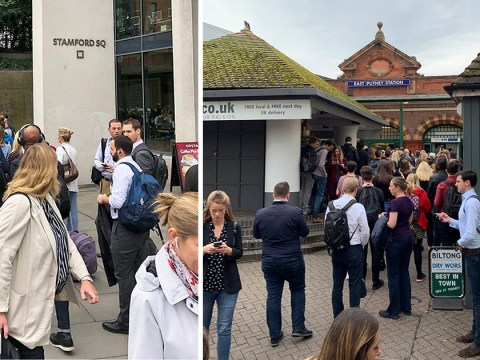 Queue from hell in Putney as strikes go into second day