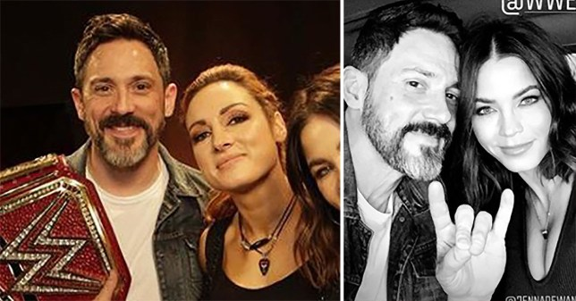 Jenna Dewan and Steve Kazee make public debut at the wrestling and it's adorable