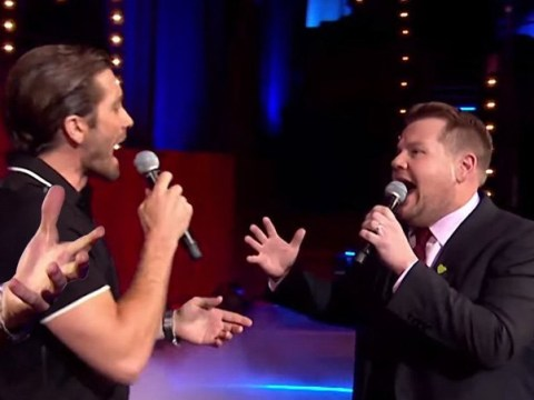 Jake Gyllenhaal sweetly serenades James Corden and it's everything (Video)