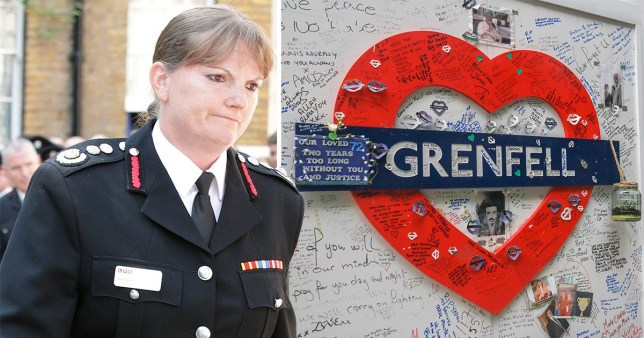 London's Fire Brigade Commissioner Dany Cotton will retire next year citing the utter devastation of Grenfell Tower fire.