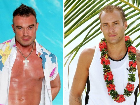 These Love Island 2005 cast promo shots of Calum Best and Fran Gosgrave are brilliant