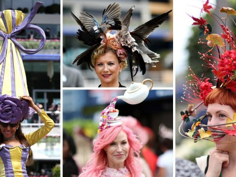 Most bizarre and brilliant hats from Royal Ascot Ladies' Day