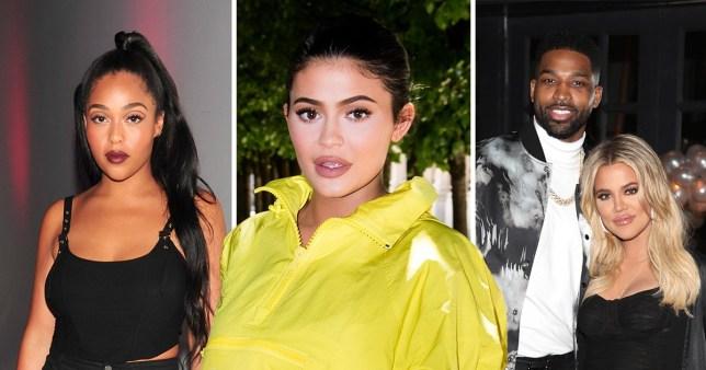 Kylie Jenner, Jordyn Woods, Tristan Thompson, Khloe Kardashiam