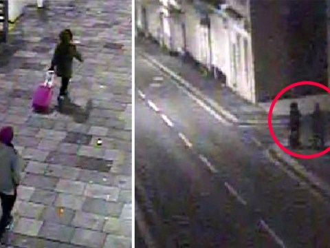 Chilling CCTV of knifeman stalking woman 'like a scene from Luther'