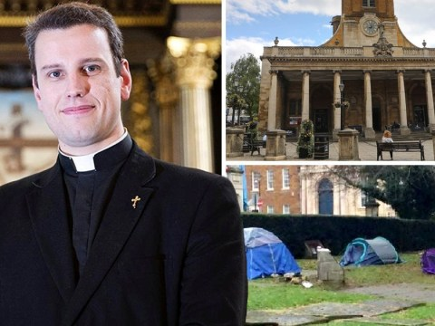 Vicar branded 'un-Christian' for evicting group of homeless people from churchyard
