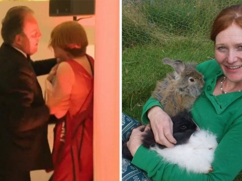 Greenpeace protester grabbed by minister is a rabbit wool knitter from rural Wales