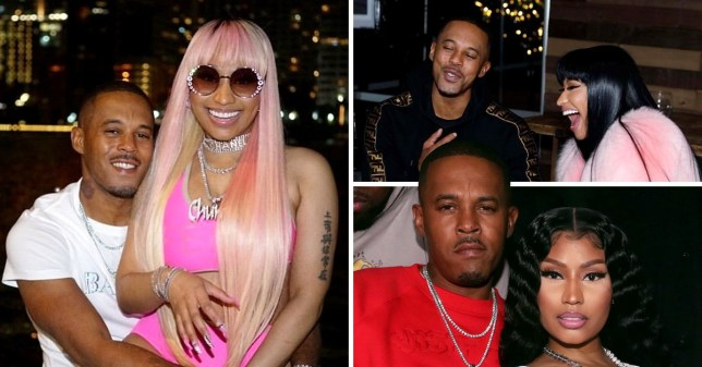 Nicki Minaj and Kenneth Petty