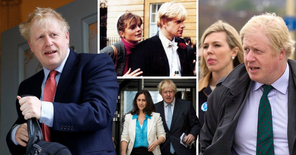 Boris Johnson has been married twice and had a number of affairs