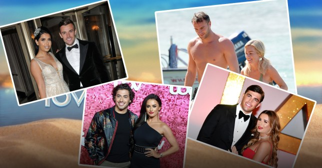 all the previous winners of love island