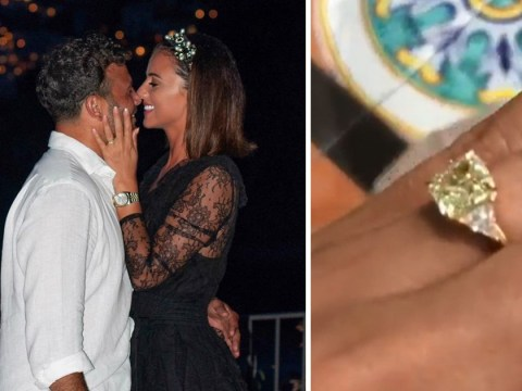 Ryan Thomas and Lucy Mecklenburgh are engaged after two years together