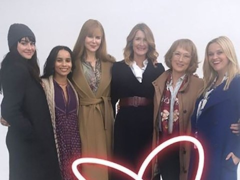 Meryl Streep's Big Little Lies co-stars shower her with love as she turns 70