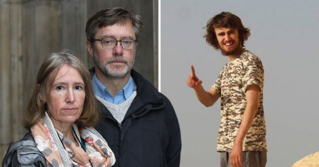 Jihadi Jack says he has 'no intention of blowing up British people' and is desperate to return home after his mum and dad were convicted of funding terrorism by sending him money in Syria