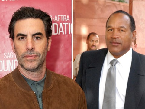Sacha Baron Cohen trained with FBI interrogator before trying to get confession out of OJ Simpson