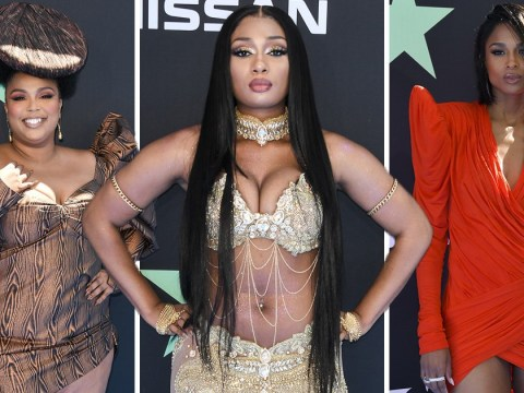 Ciara, Lizzo and Megan Thee Stallion bring their A-game to BET Awards red carpet