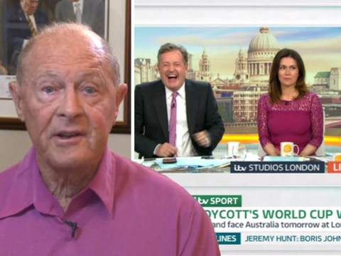 Piers Morgan stirs the pot as Geoffrey Boycott charms Susanna Reid: 'She's partial to an older man'