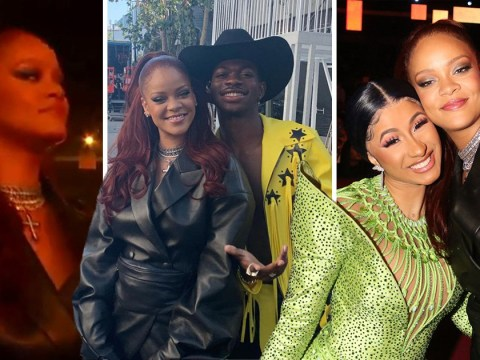 Rihanna partied like nobody else at the BET Awards from selfies with Cardi B to dancing to Lizzo