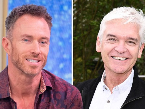 James Jordan and stars rally around Phillip Schofield amid Amanda Holden drama