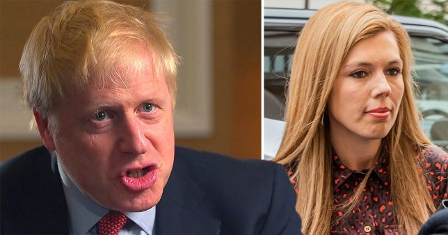 Boris Johnson has been interviewed for the first time since he was involved in a 'screaming row' with his girlfriend