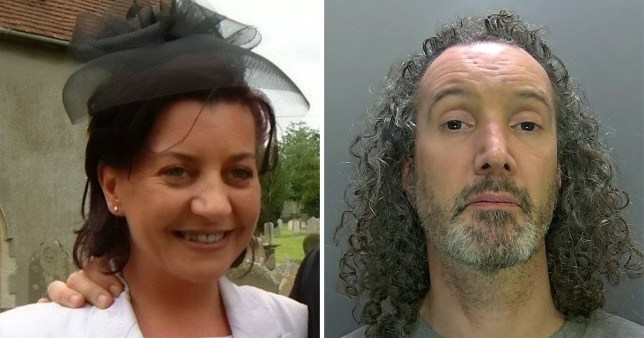 Robert Simpson-Scott, 44, tried to claim that he had suffocated Sally Cavender during 'vigorous oral sex'.