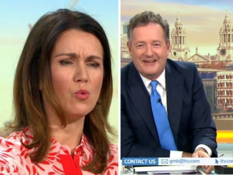 Piers Morgan electrocutes Susanna Reid with 'torture' watch and loves every second of it