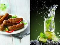 Aldi's mojito sausages