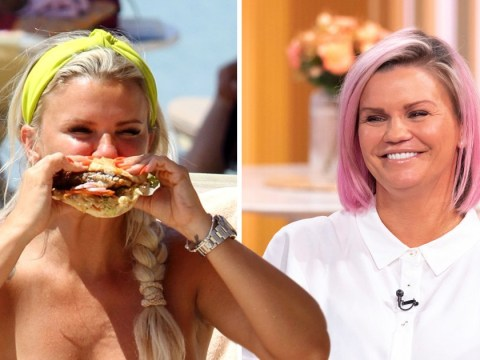 Kerry Katona hits back at topless burger picture: 'Would you rather me do a line of coke?'