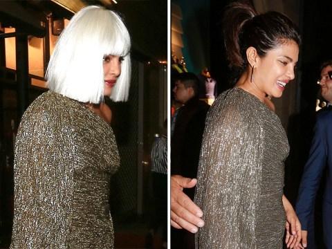 Priyanka Chopra tries to go incognito in blonde bob, forgets she's walking with Nick Jonas