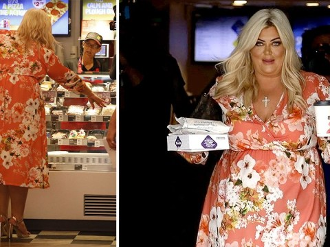 Gemma Collins busts diet with cheeky Greggs run after 'using £250 weight loss injections'