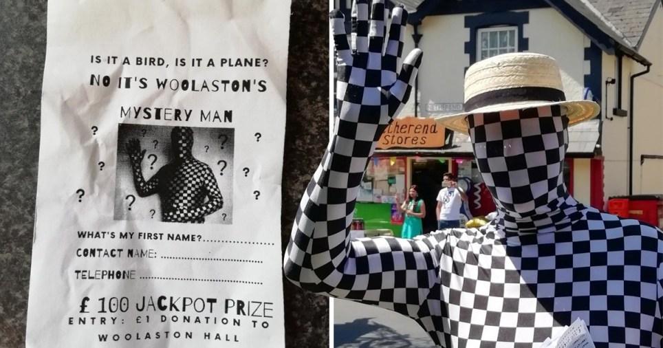 Woolaston carnival mystery man