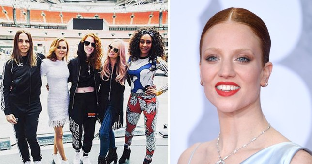 Jess Glynne and the Spice Girls