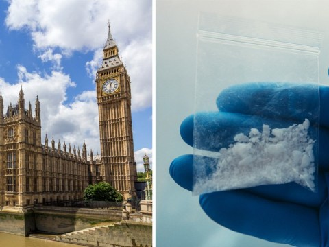 Traces of cocaine found throughout Houses of Parliament