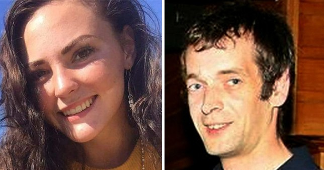 Hope Bards, 21, while Jerome Dangar watched on webcam