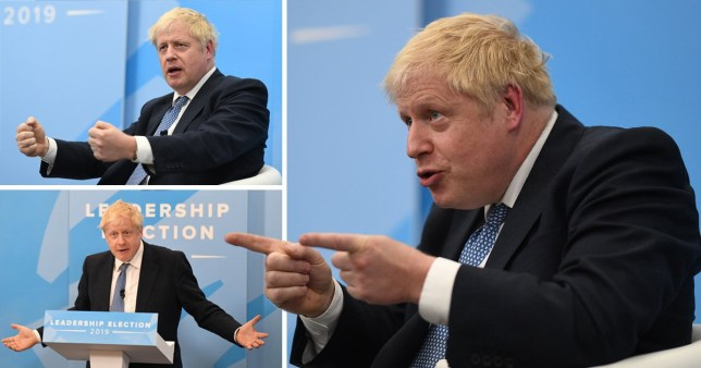 Boris Johnson shared his immigration plan during a digital hustings hosted on Facebook